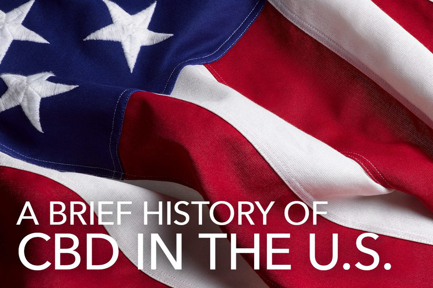 A Brief History of CBD in the US
