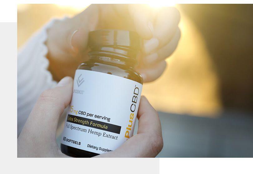 CBD Softgel capsules, 60ct, Extra Strength Formula
