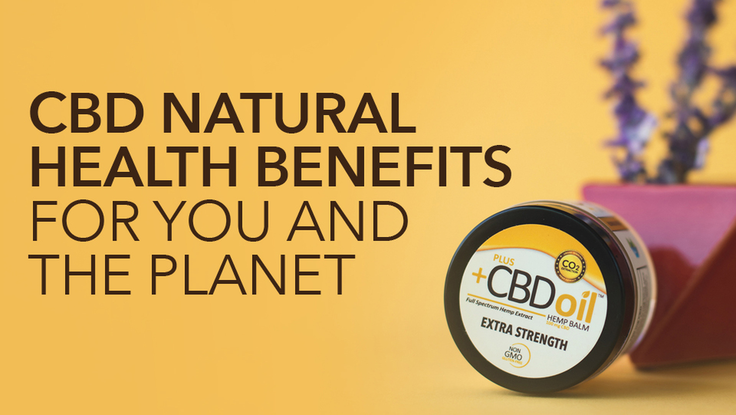 CBD Oil Benefits For You and the Planet