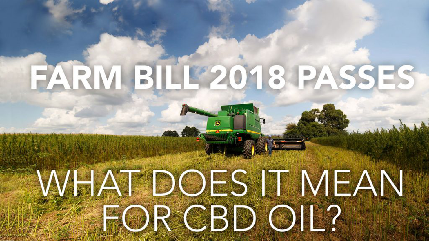 Farm Bill 2018 Passes – What Does It Mean for CBD Oil?