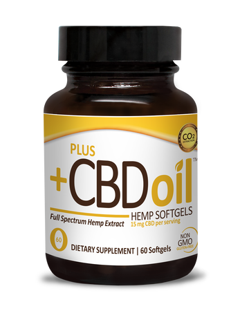 CBD Softgels 60ct 15mg Gold Formula