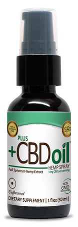 Plus CBD Spray 1oz 100mg Unflavored image number null