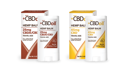 Plus CBD Balm Travel Size