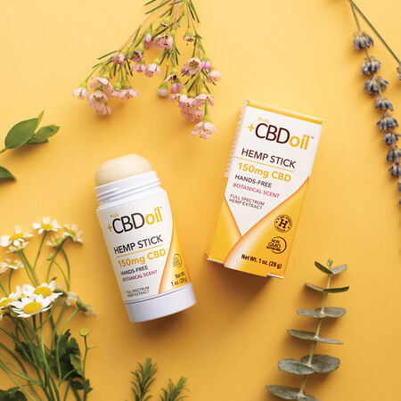 CBD Balm 150mg Hemp Stick image number null