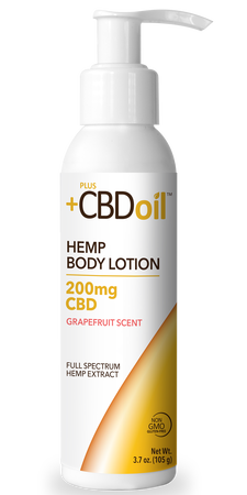 Plus CBD Lotion 200mg Grapefruit