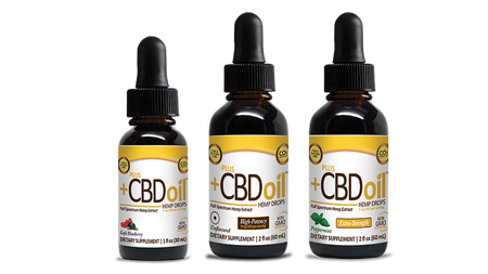 CBD Oil Drops Gold Formula
