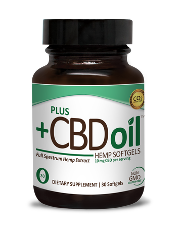 CBD Softgels 30ct 10mg Total Plant Complex