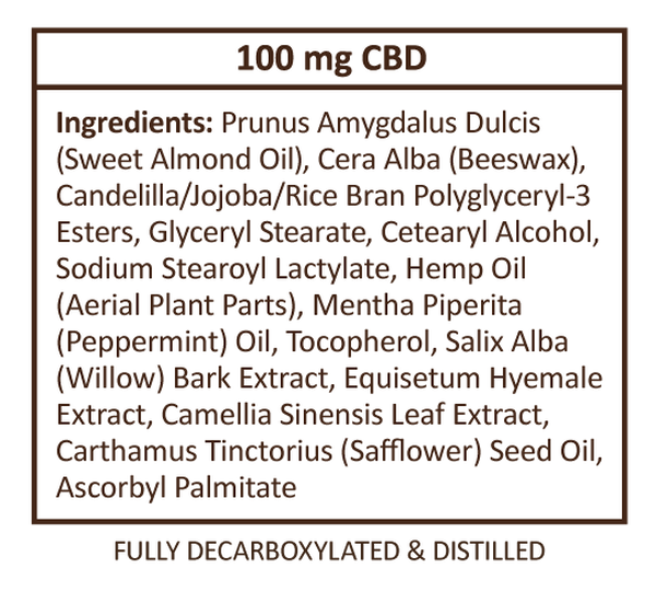 CBD Balm 100mg image number null