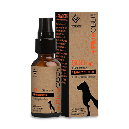 Plus CBD PET 500mg Peanut Butter
