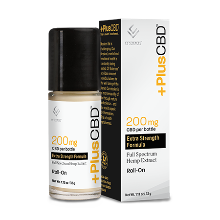 Plus CBD Roll-on 200mg image number null