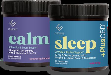 Calm and Sleep CBD Bundle
