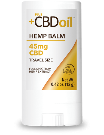 Plus CBD Balm 45mg Travel Size image number null