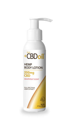 +PlusCBD™ Oil Body Lotion