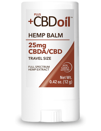 CBD Oil Balm 25mg Travel Size Raw Formula