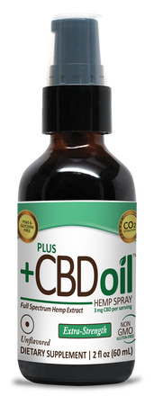 CBD Spray 2oz 500mg Unflavored image number null