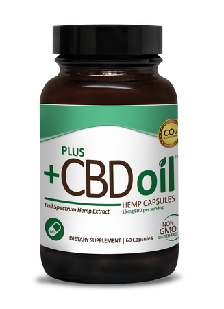 CBD Capsules 60ct 15mg