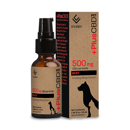 Plus CBD PET 500mg Beef