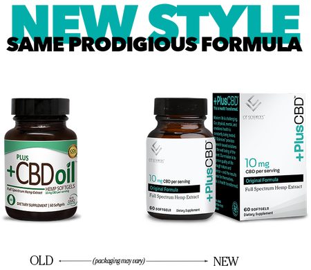 Plus CBD Softgels 30ct 10mg Total Plant Complex image number null