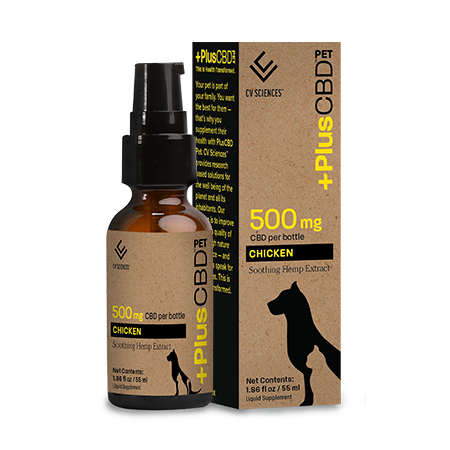 Plus CBD PET 500mg Chicken
