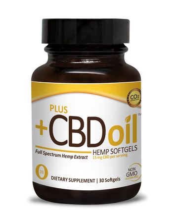 CBD Softgels 30ct 15mg Gold Formula