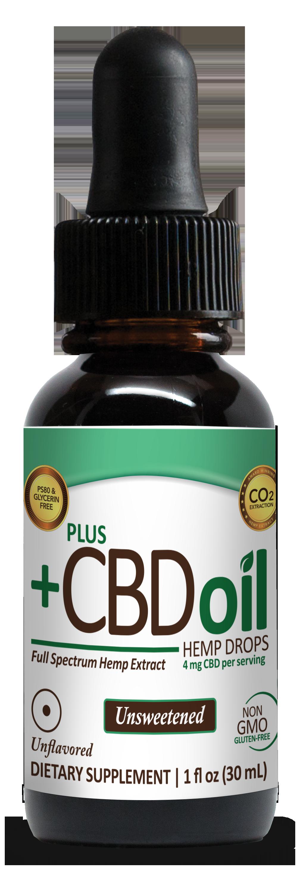 +PlusCBD™ Oil Total Plant Complex Drops
