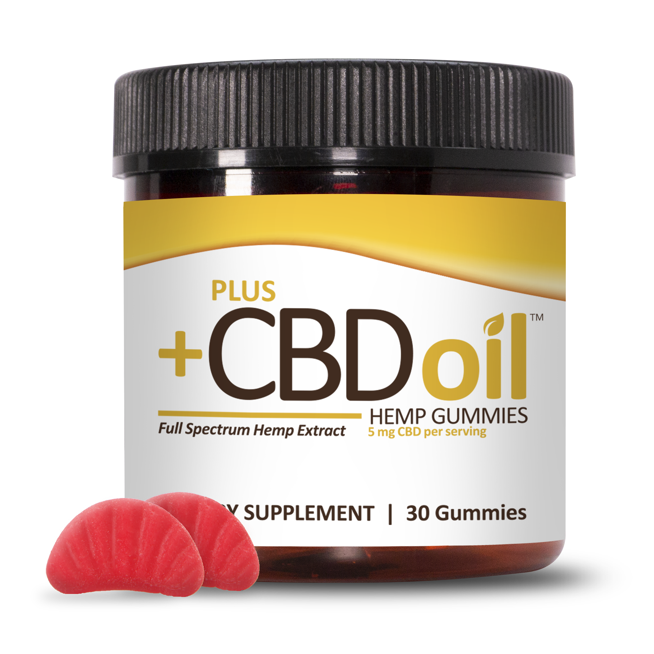 CBD Gummies 30ct 5mg Cherry Mango image number null
